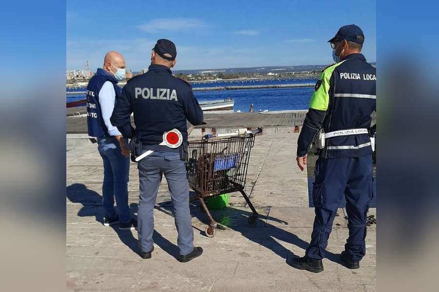 Città Vecchia: sequestrati 60 kg di prodotti ittici