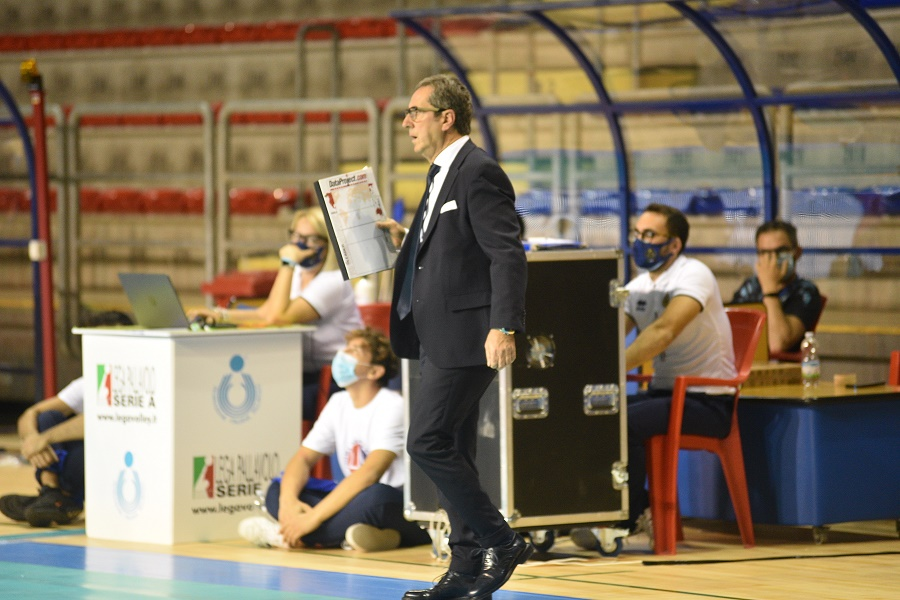 """Prisma Taranto, coach Di Pinto: """"Ci aspettano settimane dure"""""""