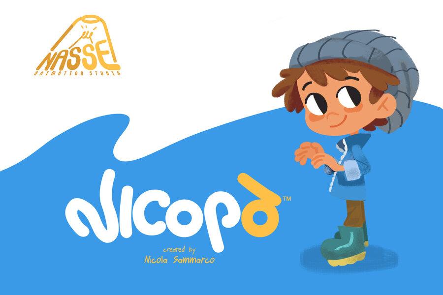 """Nicopò, nasce il primo cartone animato ecologico """"Made in Taranto"""""""