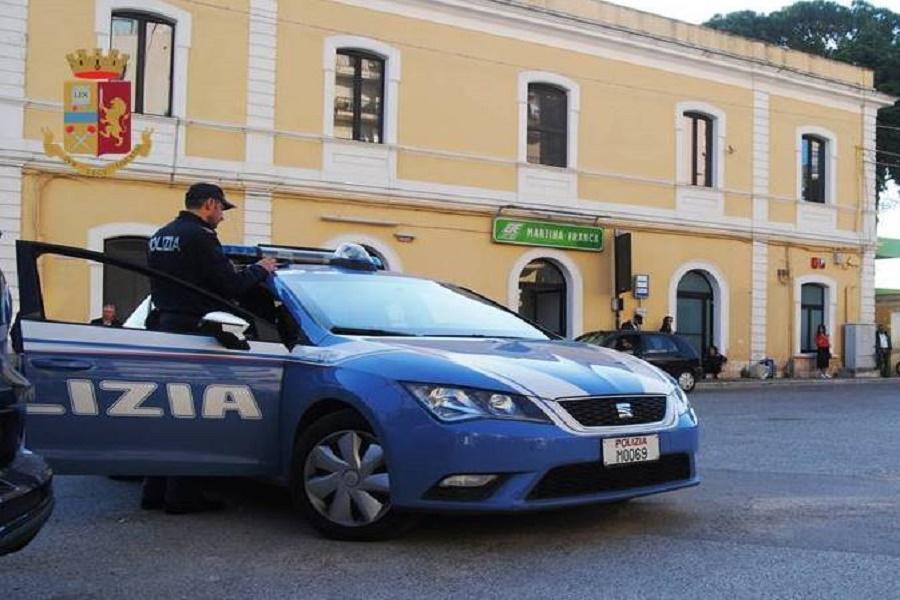Martina Franca (TA), sorpreso a rubare un'auto: denunciato 32 enne