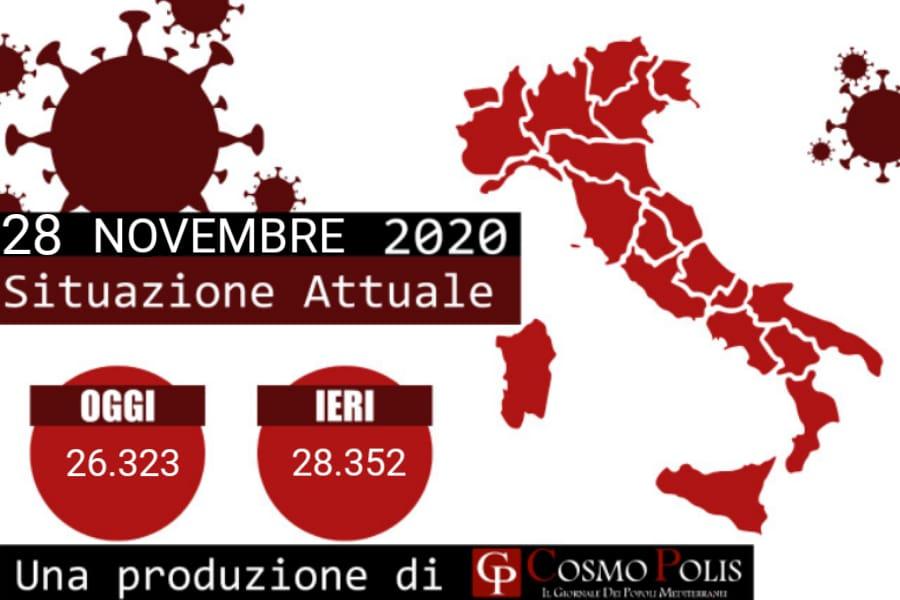 Covid Italia, oggi 26.323 nuovi casi e 686 decessi